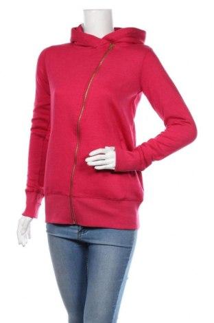 Дамски суичър MyMO, Размер S, Цвят Розов, 65% полиестер, 35% памук, Цена 66,75лв.