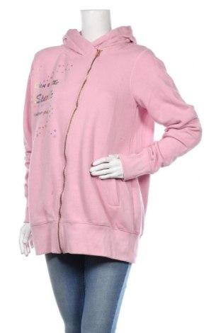 Дамски суичър MyMO, Размер M, Цвят Розов, 65% полиестер, 35% памук, Цена 42,90лв.