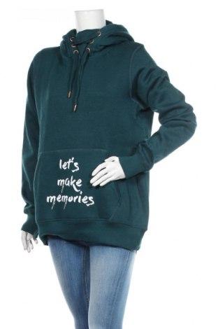 Dámská mikina  MyMO, Velikost XL, Barva Zelená, 65% polyester, 35% bavlna, Cena  859,00Kč