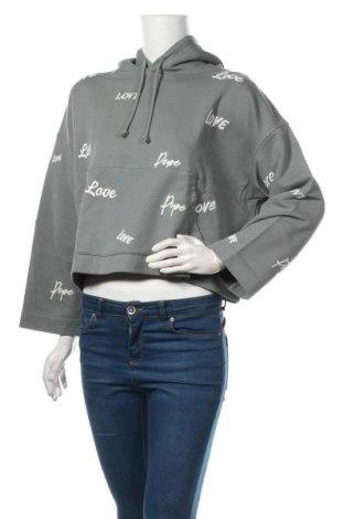 Dámská mikina  Pepe Jeans, Velikost M, Barva Zelená, Bavlna, Cena  1076,00Kč