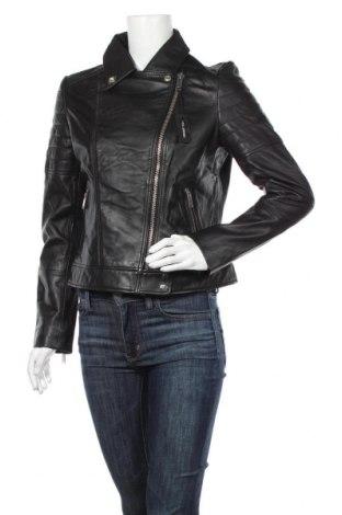 Dámská kožená bunda  Barneys, Velikost M, Barva Černá, Pravá kůže, Cena  2598,00Kč