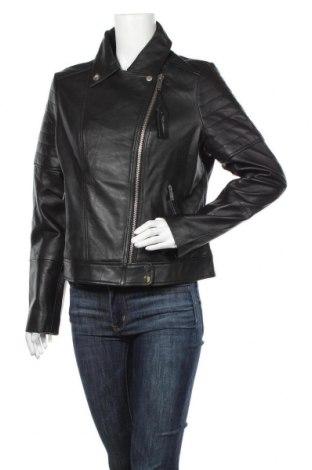 Dámská kožená bunda  Barneys, Velikost XL, Barva Černá, Pravá kůže, Cena  2489,00Kč