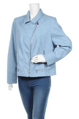 Dámská kožená bunda  Bonita, Velikost XL, Barva Modrá, Eko kůže, Cena  1619,00Kč