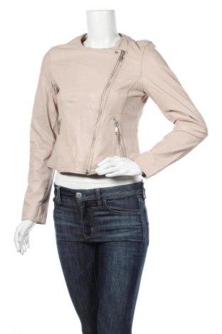 Dámská kožená bunda  Comma,, Velikost S, Barva Růžová, Pravá kůže, Cena  4120,00Kč