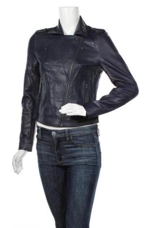 Dámská kožená bunda  Comma,, Velikost S, Barva Modrá, Eko kůže, Cena  2489,00Kč