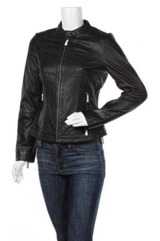 Дамско кожено яке Comma,, Размер S, Цвят Черен, Естествена кожа, Цена 291,75лв.