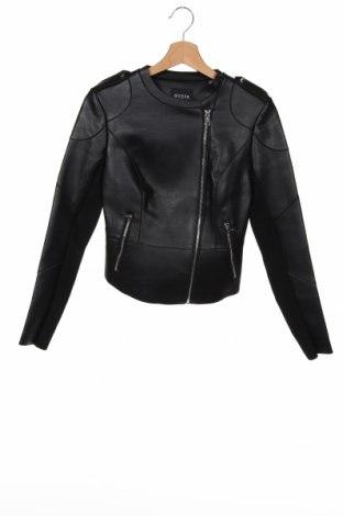 Dámská kožená bunda  Guess, Velikost XS, Barva Černá, Eko kůže, textile , Cena  3141,00Kč