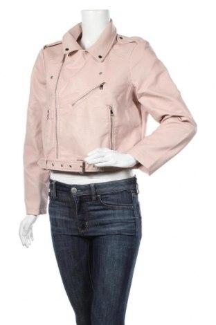 Dámská kožená bunda  Pimkie, Velikost XL, Barva Růžová, Eko kůže, Cena  782,00Kč