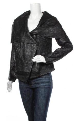 Dámská kožená bunda  Triangle By s.Oliver, Velikost L, Barva Černá, Pravá kůže, Cena  4554,00Kč
