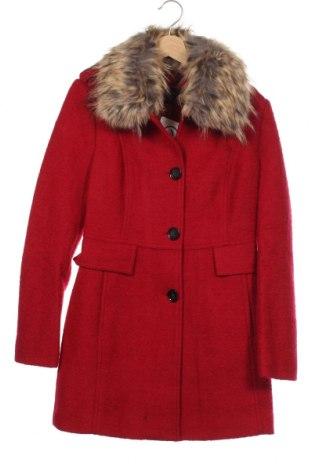 Damski płaszcz Comma,, Rozmiar XS, Kolor Czerwony, 52% wełna, 48% poliester, Cena 523,13zł