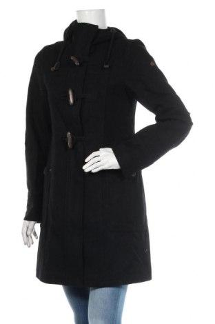 Дамско палто Dreimaster, Размер S, Цвят Черен, 38% вълна, 32% полиестер, 14% полиакрил, 6% полиамид, 5% памук, 5% вискоза, Цена 141,75лв.