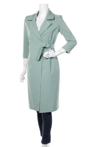 Damski płaszcz Imperial, Rozmiar S, Kolor Zielony, 94% poliester, 6% elastyna, Cena 237,60zł