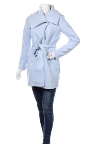 Дамско палто MyMO, Размер XS, Цвят Син, 90% полиестер, 10% вълна, Цена 96,75лв.