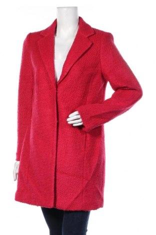 Дамско палто Montego, Размер M, Цвят Розов, 50% вълна, 50% полиестер, Цена 126,75лв.