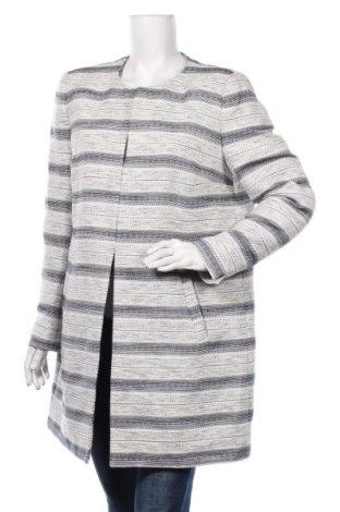 Дамско палто Montego, Размер XL, Цвят Син, 67% полиестер, 33% памук, Цена 70,50лв.