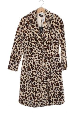 Damski płaszcz Pretty Little Thing, Rozmiar XS, Kolor Kolorowy, 100% poliester, Cena 185,63zł