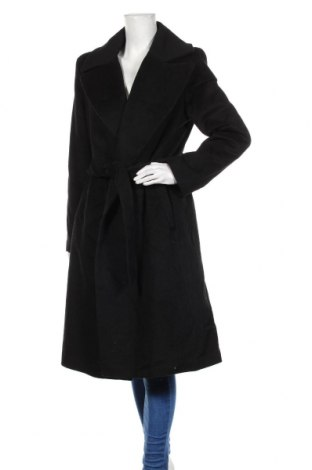 Дамско палто Ralph Lauren, Размер XL, Цвят Черен, 60% вълна, 25% полиестер, 5% кашмир, 5% памук, 5% други материали, Цена 389,25лв.
