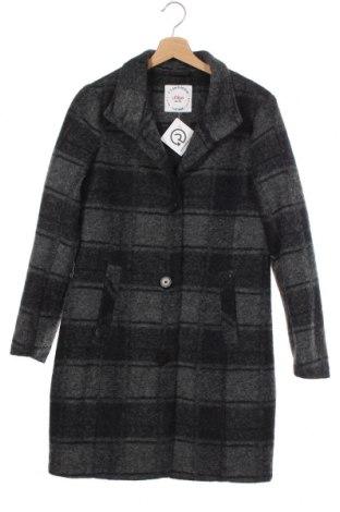 Дамско палто S.Oliver, Размер XS, Цвят Сив, 88% полиестер, 12% вълна, Цена 149,25лв.
