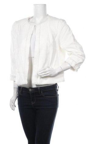 Дамско сако Comma,, Размер XL, Цвят Бял, 98% памук, 2% еластан, Цена 134,25лв.