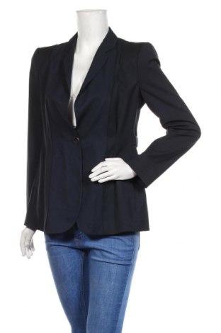 Sacou de femei Emporio Armani, Mărime M, Culoare Albastru, 98% lână, 2% elastan, Preț 384,30 Lei