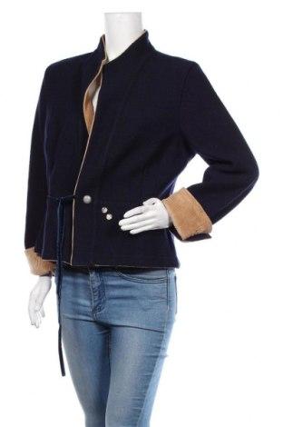 Dámské sako  Luis Trenker, Velikost XL, Barva Modrá, 100% vlna, Cena  5925,00Kč