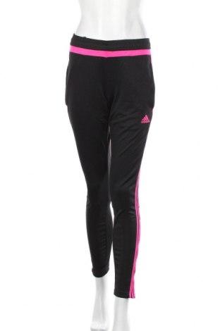 Pantaloni trening de femei Adidas, Mărime S, Culoare Negru, Poliester, Preț 106,11 Lei
