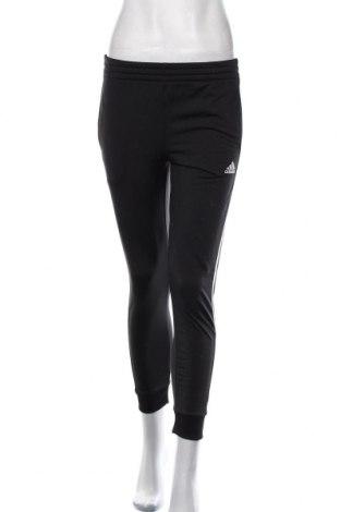 Pantaloni trening de femei Adidas, Mărime M, Culoare Negru, Poliester, Preț 106,11 Lei