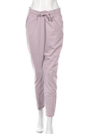 Дамско спортно долнище Amisu, Размер XL, Цвят Лилав, 50% памук, 50% полиестер, Цена 22,05лв.