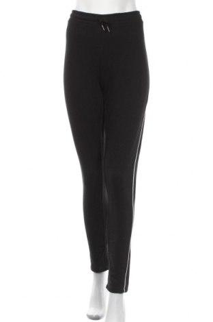 Pantaloni trening de femei Chicoree, Mărime XL, Culoare Negru, 60% bumbac, 40% poliester, Preț 122,68 Lei