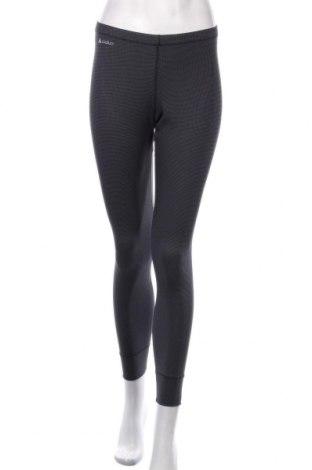 Pantaloni trening de femei Odlo, Mărime S, Culoare Gri, Poliester, Preț 59,68 Lei