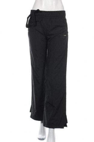 Pantaloni trening de femei Reebok, Mărime M, Culoare Negru, Poliester, Preț 92,84 Lei