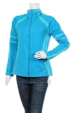 Bluză trening de femei, Mărime L, Culoare Albastru, 87% poliamidă, 13% elastan, Preț 79,58 Lei