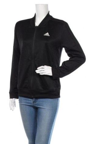Bluză trening de femei Adidas, Mărime M, Culoare Negru, Preț 139,26 Lei