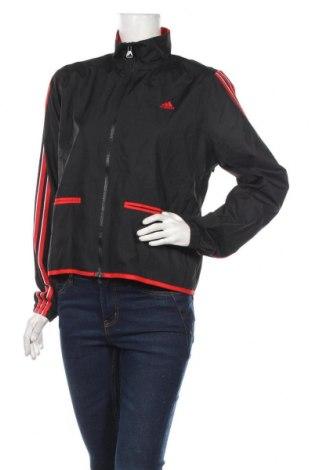 Дамско спортно яке Adidas, Размер L, Цвят Черен, Полиестер, Цена 53,87лв.