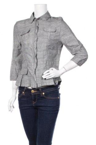 Γυναικείο μπουφάν Barbara Lebek, Μέγεθος M, Χρώμα Γκρί, 54% λινό, 41% βισκόζη, 5% πολυεστέρας, Τιμή 26,91€