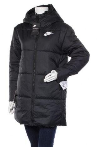 Дамско яке Nike, Размер M, Цвят Черен, Полиестер, Цена 239,25лв.