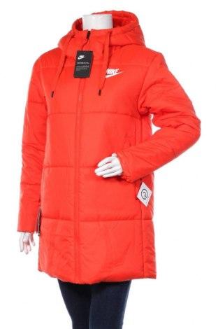 Дамско яке Nike, Размер M, Цвят Оранжев, Полиестер, Цена 239,25лв.