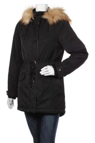 Дамско яке Promod, Размер S, Цвят Черен, Полиестер, Цена 119,25лв.