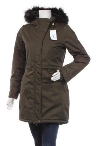 Дамско яке Usha, Размер S, Цвят Зелен, 65% полиестер, 35% памук, Цена 119,25лв.