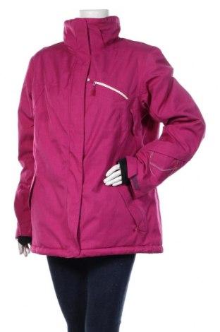 Дамско яке за зимни спортове Salomon, Размер XL, Цвят Розов, 100% полиестер, Цена 104,25лв.