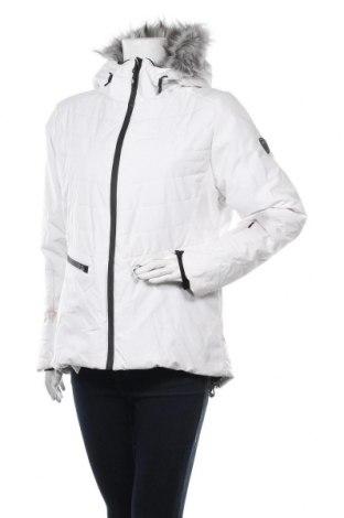 Дамско яке за зимни спортове Trespass, Размер L, Цвят Бял, Полиестер, Цена 149,25лв.
