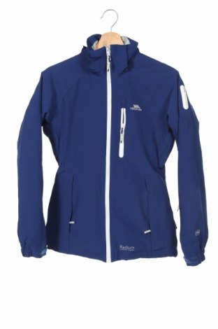 Дамско яке за зимни спортове Trespass, Размер XXS, Цвят Син, 95% полиестер, 5% еластан, Цена 121,50лв.