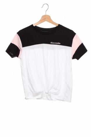 Bluză pentru copii Abercrombie Kids, Mărime 15-18y/ 170-176 cm, Culoare Alb, 60% bumbac, 40% poliester, Preț 72,37 Lei