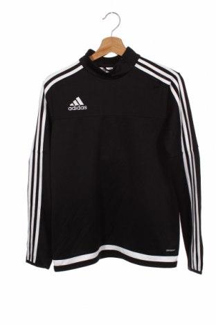 Bluză pentru copii Adidas, Mărime 12-13y/ 158-164 cm, Culoare Negru, Poliester, Preț 106,11 Lei