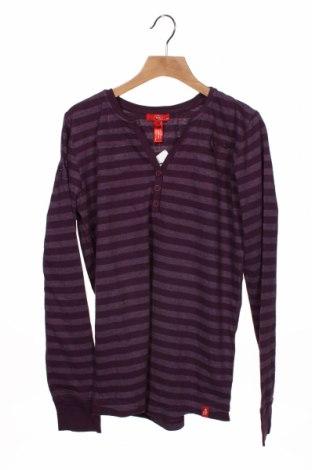 Dziecięca bluzka Edc By Esprit, Rozmiar 15-18y/ 170-176 cm, Kolor Fioletowy, 75% bawełna, 25% poliester, Cena 48,00zł