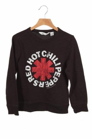 Dziecięca bluzka H&M, Rozmiar 6-7y/ 122-128 cm, Kolor Brązowy, 70% bawełna, 30% poliester, Cena 45,60zł