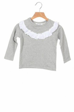 Детска блуза Little Celebs, Размер 3-4y/ 104-110 см, Цвят Сив, 96% памук, 4% еластан, Цена 29,25лв.