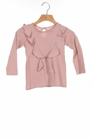 Детска блуза Little Celebs, Размер 18-24m/ 86-98 см, Цвят Розов, Памук, Цена 30,80лв.