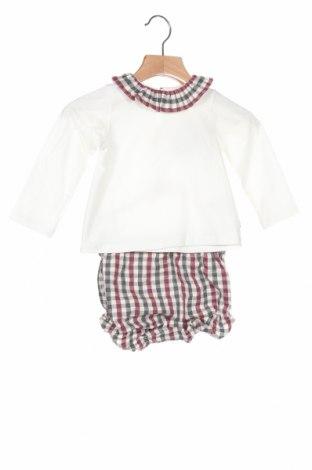Set pentru copii Lola Palacios, Mărime 9-12m/ 74-80 cm, Culoare Alb, 94% bumbac, 6% elastan, Preț 128,29 Lei