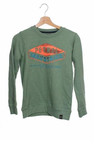 Bluză pentru copii Petrol Industries, Mărime 10-11y/ 146-152 cm, Culoare Verde, 60% bumbac, 40% poliester, Preț 120,89 Lei